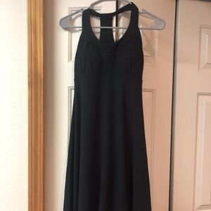 Prana Long Black Dress